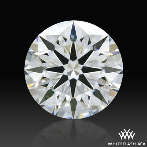 0.58 ct E VVS1 A CUT ABOVE® Hearts and Arrows Super Ideal Round Cut Loose Diamond