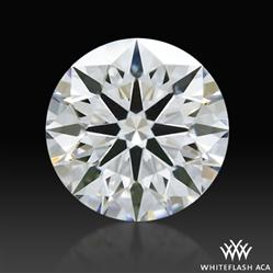 0.58 ct E VVS1 A CUT ABOVE® Hearts and Arrows Super Ideal Round Cut Loose Diamond