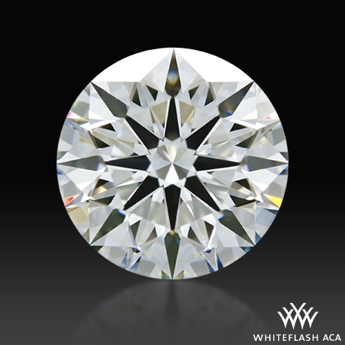 1.726 ct F VS1 A CUT ABOVE® Hearts and Arrows Super Ideal Round Cut Loose Diamond