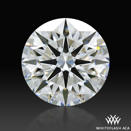 1.581 ct F VS2 A CUT ABOVE® Hearts and Arrows Super Ideal Round Cut Loose Diamond