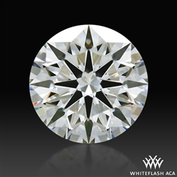 1.21 ct H VS2 A CUT ABOVE® Hearts and Arrows Super Ideal Round Cut Loose Diamond