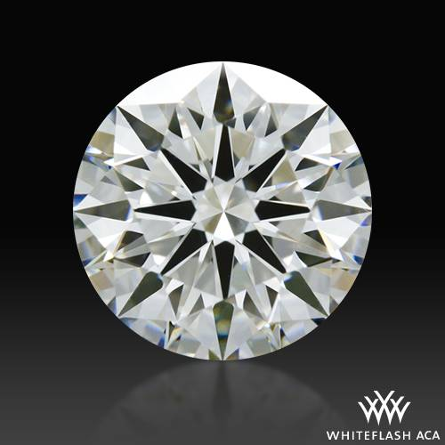 1.267 ct H VS2 A CUT ABOVE® Hearts and Arrows Super Ideal Round Cut Loose Diamond