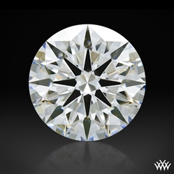 1.121 ct F VVS1 A CUT ABOVE® Hearts and Arrows Super Ideal Round Cut Loose Diamond