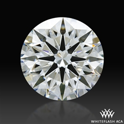 1.127 ct F VS2 A CUT ABOVE® Hearts and Arrows Super Ideal Round Cut Loose Diamond
