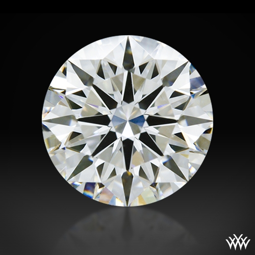 1.107 ct E VS2 A CUT ABOVE® Hearts and Arrows Super Ideal Round Cut Loose Diamond