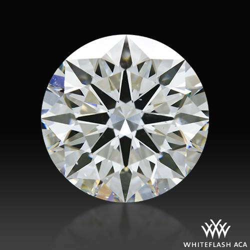 2.078 ct G SI1 A CUT ABOVE® Hearts and Arrows Super Ideal Round Cut Loose Diamond