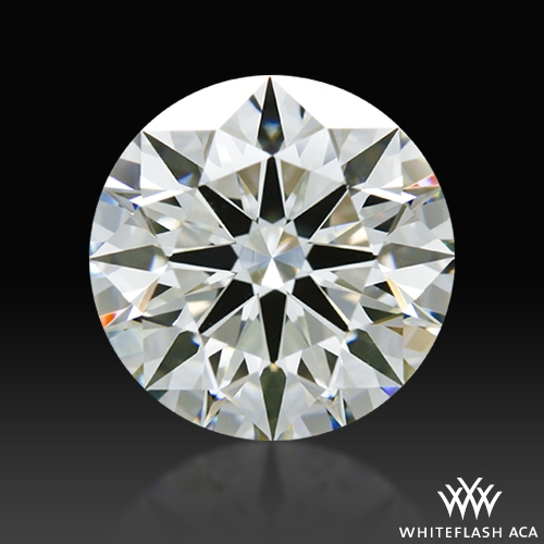 2.203 ct I VS2 A CUT ABOVE® Hearts and Arrows Super Ideal Round Cut Loose Diamond