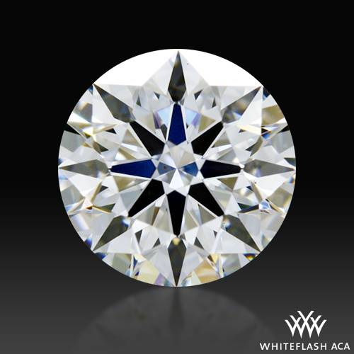 0.621 ct F VS2 A CUT ABOVE® Hearts and Arrows Super Ideal Round Cut Loose Diamond