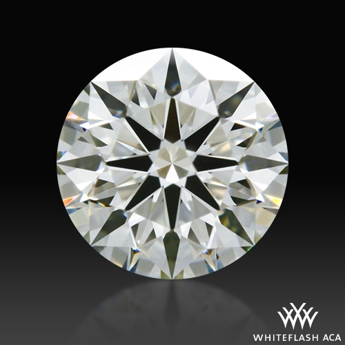 0.67 ct H VVS2 A CUT ABOVE® Hearts and Arrows Super Ideal Round Cut Loose Diamond