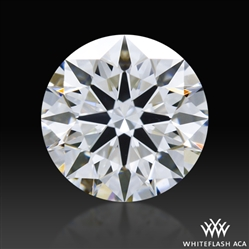 0.657 ct G VVS2 A CUT ABOVE® Hearts and Arrows Super Ideal Round Cut Loose Diamond
