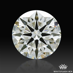 0.662 ct I VS1 A CUT ABOVE® Hearts and Arrows Super Ideal Round Cut Loose Diamond