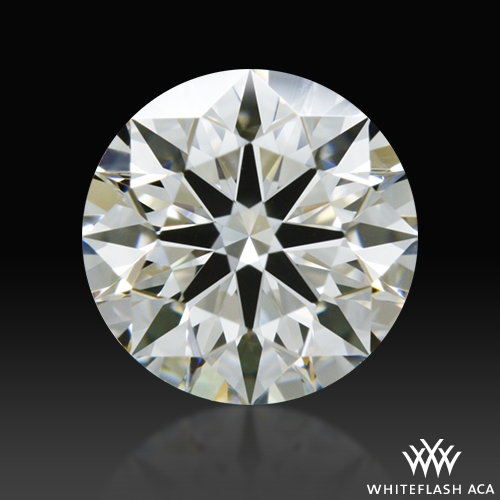 0.65 ct I VVS2 A CUT ABOVE® Hearts and Arrows Super Ideal Round Cut Loose Diamond
