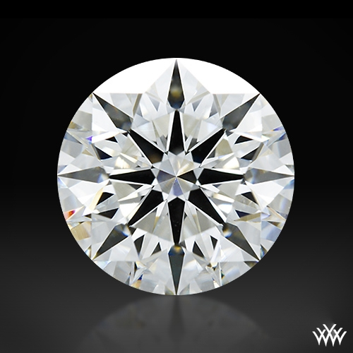 2.195 ct I VS1 A CUT ABOVE® Hearts and Arrows Super Ideal Round Cut Loose Diamond