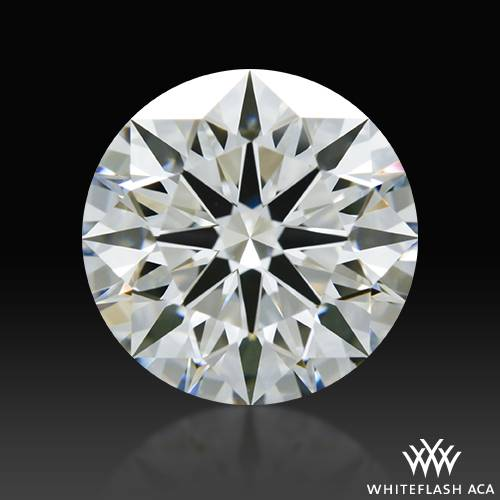 1.501 ct H VS2 A CUT ABOVE® Hearts and Arrows Super Ideal Round Cut Loose Diamond