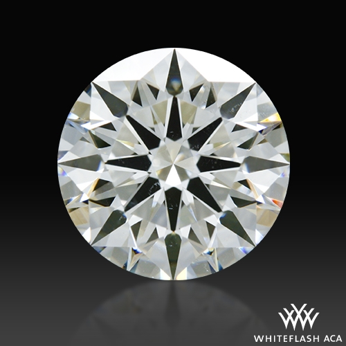 1.532 ct I SI1 A CUT ABOVE® Hearts and Arrows Super Ideal Round Cut Loose Diamond