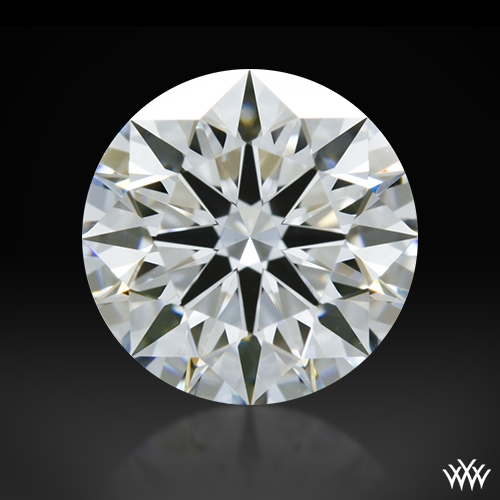 1.058 ct F VS1 A CUT ABOVE® Hearts and Arrows Super Ideal Round Cut Loose Diamond
