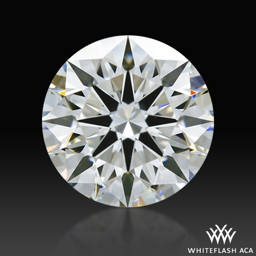 1.04 ct F VS1 A CUT ABOVE® Hearts and Arrows Super Ideal Round Cut Loose Diamond