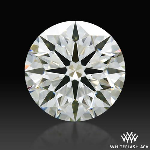 1.01 ct J VS1 A CUT ABOVE® Hearts and Arrows Super Ideal Round Cut Loose Diamond