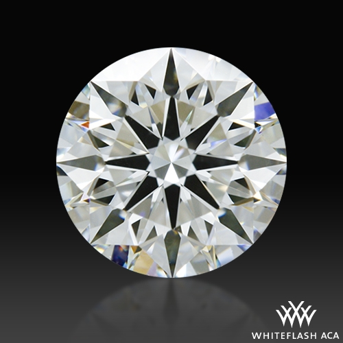 1.01 ct H VVS2 A CUT ABOVE® Hearts and Arrows Super Ideal Round Cut Loose Diamond