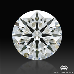 1.575 ct G VS1 A CUT ABOVE® Hearts and Arrows Super Ideal Round Cut Loose Diamond
