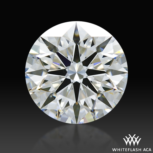 1.006 ct F SI1 A CUT ABOVE® Hearts and Arrows Super Ideal Round Cut Loose Diamond