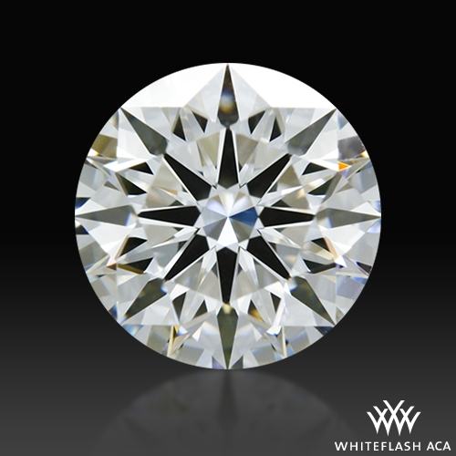 1.148 ct F IF A CUT ABOVE® Hearts and Arrows Super Ideal Round Cut Loose Diamond