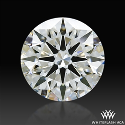 1.133 ct G VS2 A CUT ABOVE® Hearts and Arrows Super Ideal Round Cut Loose Diamond