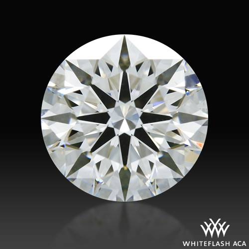1.122 ct F VS1 A CUT ABOVE® Hearts and Arrows Super Ideal Round Cut Loose Diamond