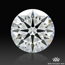 1.155 ct D VS2 A CUT ABOVE® Hearts and Arrows Super Ideal Round Cut Loose Diamond
