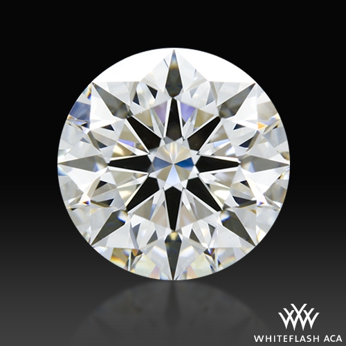 2.074 ct G VS2 A CUT ABOVE® Hearts and Arrows Super Ideal Round Cut Loose Diamond