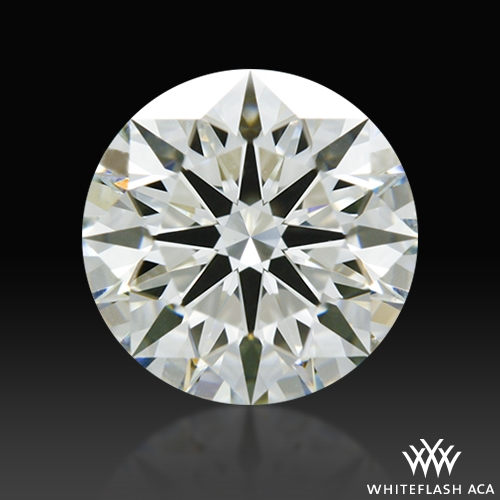 1.12 ct I VS1 A CUT ABOVE® Hearts and Arrows Super Ideal Round Cut Loose Diamond