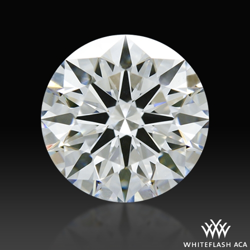 1.247 ct E VVS2 A CUT ABOVE® Hearts and Arrows Super Ideal Round Cut Loose Diamond