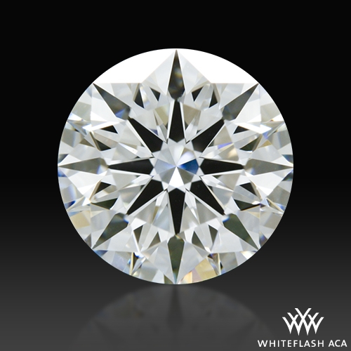 1.11 ct E IF A CUT ABOVE® Hearts and Arrows Super Ideal Round Cut Loose Diamond