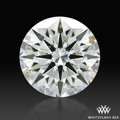 1.704 ct G SI1 A CUT ABOVE® Hearts and Arrows Super Ideal Round Cut Loose Diamond