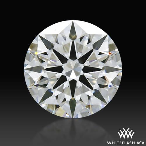 1.138 ct E VS1 A CUT ABOVE® Hearts and Arrows Super Ideal Round Cut Loose Diamond