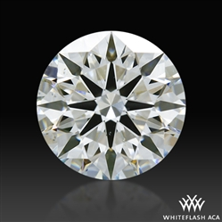 1.028 ct H SI1 A CUT ABOVE® Hearts and Arrows Super Ideal Round Cut Loose Diamond