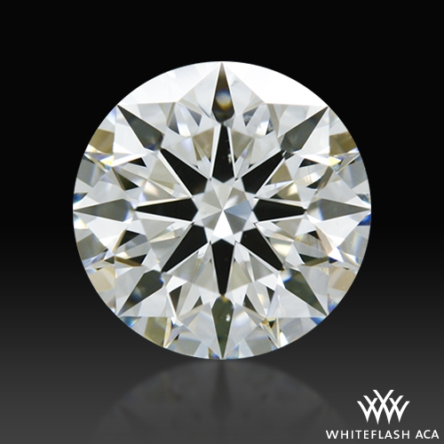 1.075 ct H VS2 A CUT ABOVE® Hearts and Arrows Super Ideal Round Cut Loose Diamond