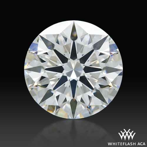 1.102 ct G SI2 A CUT ABOVE® Hearts and Arrows Super Ideal Round Cut Loose Diamond