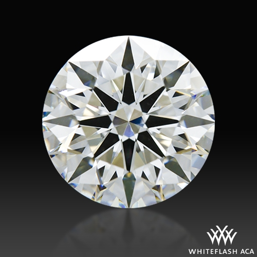 2.01 ct H VS2 A CUT ABOVE® Hearts and Arrows Super Ideal Round Cut Loose Diamond