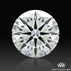 2.001 ct F VS2 A CUT ABOVE® Hearts and Arrows Super Ideal Round Cut Loose Diamond