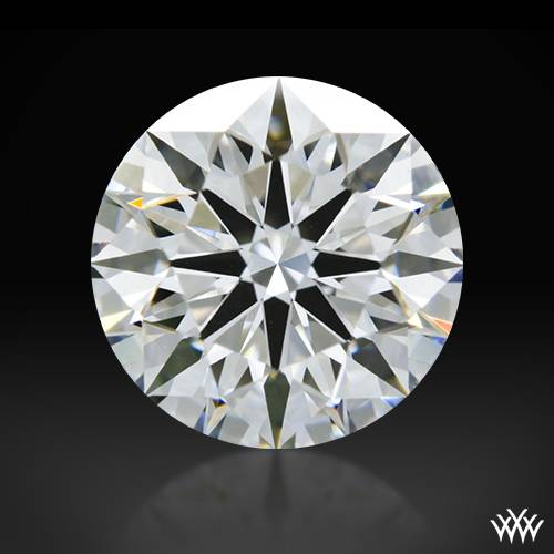 1.512 ct E VS1 A CUT ABOVE® Hearts and Arrows Super Ideal Round Cut Loose Diamond