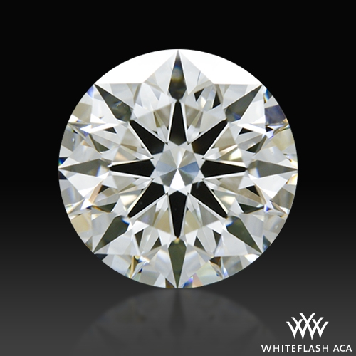 1.526 ct H VS2 A CUT ABOVE® Hearts and Arrows Super Ideal Round Cut Loose Diamond