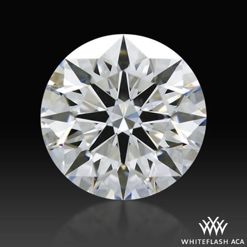 0.838 ct D VVS2 A CUT ABOVE® Hearts and Arrows Super Ideal Round Cut Loose Diamond
