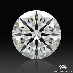 0.794 ct G IF A CUT ABOVE® Hearts and Arrows Super Ideal Round Cut Loose Diamond
