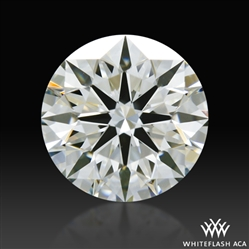0.703 ct J VS1 A CUT ABOVE® Hearts and Arrows Super Ideal Round Cut Loose Diamond