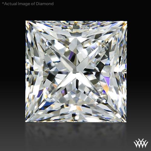 0.908 ct F VS1 A CUT ABOVE® Princess Super Ideal Cut Diamond