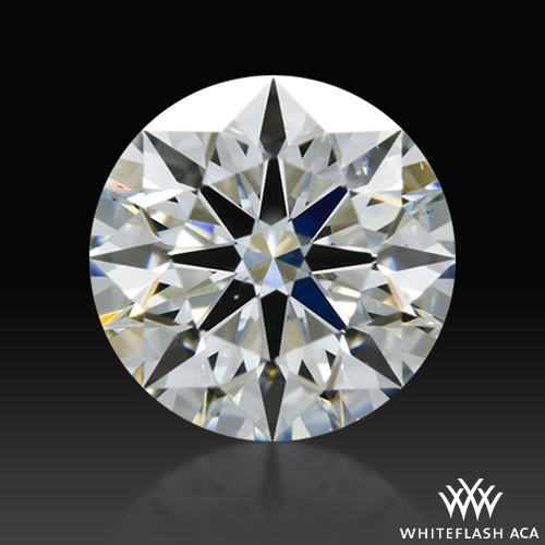 0.621 ct G VS2 A CUT ABOVE® Hearts and Arrows Super Ideal Round Cut Loose Diamond