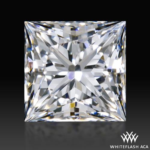 0.528 ct E VS1 A CUT ABOVE® Princess Super Ideal Cut Diamond
