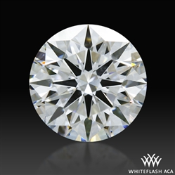 0.844 ct D SI1 A CUT ABOVE® Hearts and Arrows Super Ideal Round Cut Loose Diamond