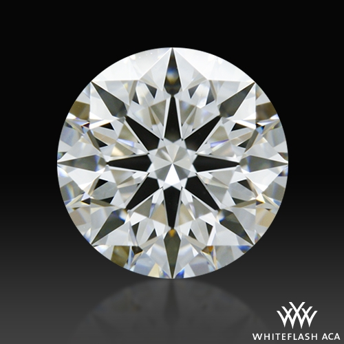 0.843 ct D VVS2 A CUT ABOVE® Hearts and Arrows Super Ideal Round Cut Loose Diamond